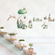[Little Village] Decorative Wall Stickers Appliques Decals Wall Decor Home Decor