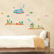 [Ocean Journey] Decorative Wall Stickers Appliques Decals Wall Decor Home Decor