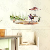 [Fashion Girl] Decorative Wall Stickers Appliques Decals Wall Decor Home Decor
