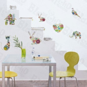 [Special Animal] Decorative Wall Stickers Appliques Decals Wall Decor Home Decor