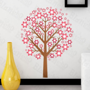 [Sakura Tree] Decorative Wall Stickers Appliques Decals Wall Decor Home Decor