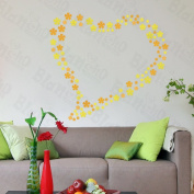 [Little Floral Meteor] Decorative Wall Stickers Appliques Decals Wall Decor Home Decor