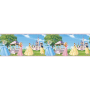 Blue Mountain Wallcoverings DS026241 Fantasy Princess Self-Stick Wall Border, 12.7cm by 4.57m