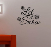 Wallstickersusa Wall Stickers, Let It Snow