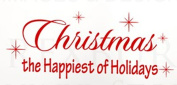 Wallstickersusa Wall Stickers, Christmas The Happiest of Holidays