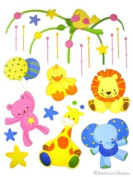 Teddy Bears Mobile Kids Room Wall Mural Sticker Decal