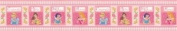 Blue Mountain Wallcoverings WL2112B Disney Princess Pink Original Self-Stick Wall Border Imperial