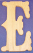 Western Wood Wall Letter 25.4cm E