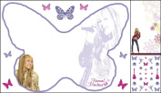 Blue Mountain Wallcoverings GAPP1835 Hannah Montana Whiteboard Kit with Locker Pen
