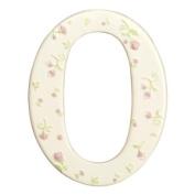 Grasslands Road Alphabet Soup Vowel Letter O, Ceramic