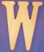 Wood Letter 35.6cm Letter W