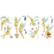 Blue Mountain Wallcoverings GAPP1765 Very Fairy Tinker Bell Self-Stick Room Appliqués