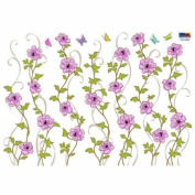 Reusable Decoration Wall Sticker Decal - ECO Cubic Flower Vines