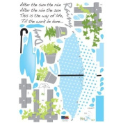 Reusable Decoration Wall Sticker Decal - Rainy Day