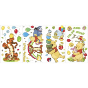 Blue Mountain Wallcoverings GAPP1760 Pooh Scenic Self-Stick Wall Appliqués
