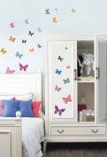 Jiniy BUTTERFLY Kids Wall Decals Deco Mural Sticker