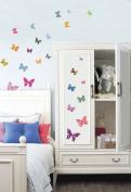 Jiniy BUTTERFLY Kids Wall Decals Deco Mural Sticker