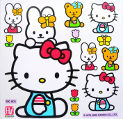 Hello Kitty Home Decor Kids Furniture Window Wall Glass Decal Laptop Vinyl Stickers