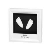 Baby Art Window Sculpture Frame - White - keepsake gift