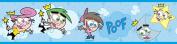 Brewster 147B02111 Nickelodeon Fairly Odd Parents Wall Border