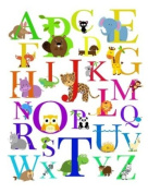 Alphabet Animal Nursery Wall Art