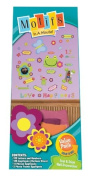 Motifs In A Minute Peel and Stick Value Pack Wall Decor Appliqués Oh Yeah Flowers, Letters, and Numbers