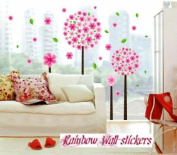 Rainbow Wall-stickers Wall Decor Removable Decal Sticker - Big Cherry Blossom Trees