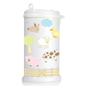 Ubbi Nappy Pail Decals - Farm