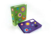 FunToSee Mini Wall Sticker Decals, Funky Polka Dots