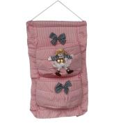[Zebra & Doll] Pink/Wall Hanging/ Wall Organisers /Wall Baskets/Hanging Baskets