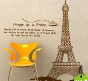 Rainbow Wall-stickers Wall Decor Removable Decal Sticker - Paris Eiffel Tower