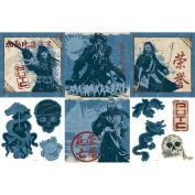 Blue Mountain Wallcoverings 31720486 Pirates Self-Stick Decorating Kit