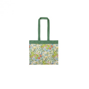 V&A Golden Lily Canvas Shoulder Bag
