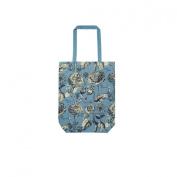 RHS Rosemoor Blue Canvas Bag