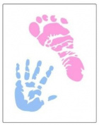 Baby Hand and Foot Prints Stencil