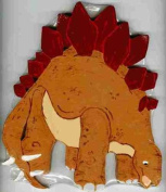 Stegosaurus Dinosaur Kid's Wall Plaque