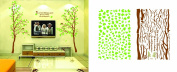Big Tree and Birds - Wall Decals Wall Sticker Wall Decal