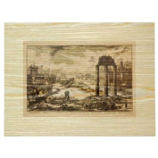 Ancient Cities Arches on Wood Veneer Wall Art by Studio Arts