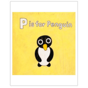 Matthew Porter Art Wall Decor Art Print, P is for Penguin