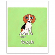 Matthew Porter Art Wall Decor Art Print, Beagle