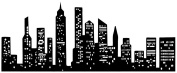 Graphique Home Decal, Cityscape