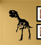 T-rex skeleton Vinyl Wall Decals Quotes Sayings Words Art Decor Lettering Vinyl Wall Art Inspirational Uplifting