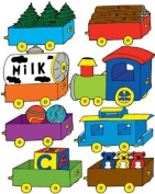 Train Wall Decals / Nursery Stickers