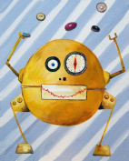 Cici Art Factory Wall Art, Mitmit Loves Donuts, Small