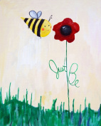 Cici Art Factory Wall Art, Just Be, Small