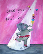 Cici Art Factory Wall Art, Dance Your Heart Out, Small