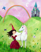 Cici Art Factory Wall Art, Princess Brunette, Small