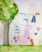 Cici Art Factory Wall Art, Play Play Play, Small