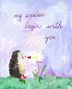 Cici Art Factory Wall Art, My Smiles Begin with You, Small