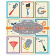 eeBoo Hardware Store Alphabet Wall Cards